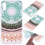 Pattern Printing TPU Protection Case Shell for Samsung Galaxy A10 – Colorful Mandala