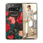 Epoxy Gold-stamping TPU Back Case for Samsung Galaxy S10 – Style A