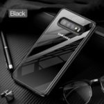 TOTU Soft Series Clear Case for Samsung Galaxy S10 Plus TPU PC Hybrid Phone Case Cover – Black