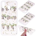 Glitter Sequins Inlaid Patterned TPU Phone Cover for Samsung Galaxy M30 – Pandas