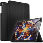 Tri-fold Leather Stand Case for Samsung Galaxy TAB A 10.1 (2019) SM-T510/SM-T515 – Black