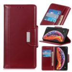 All Round Protection 3 Card Slots PU Leather Cover for Huawei Y6 (2019) – Red