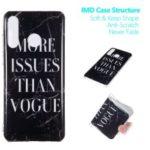 Marble Pattern IMD TPU Case Accessory for Huawei P30 Lite / nova 4e – Style A