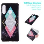 Marble Pattern IMD TPU Gel Mobile Cover for Huawei P30 Lite / nova 4e – Style I