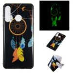 Noctilucent IMD TPU Case for Huawei P30 Lite / nova 4e – Feather Dream Catcher