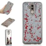 Glitter Dynamic Quicksand Mirror Surface TPU Back Phone Casing for Huawei Mate 20 Lite – Silver