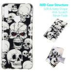 Noctilucent IMD TPU Case for Huawei Y7 (2019) / Y7 Pro (2019) / Enjoy 9 – Cool Skulls
