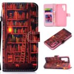 Pattern Printing Wallet Leather Stand Case for Huawei P30 Pro – Bookshelf
