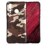 For Huawei nova 4 Camouflage Pattern TPU Mobile Phone Shell – Grey