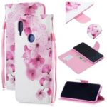 Pattern Printing Leather Stand Case with Strap for Xiaomi Redmi Note 7 / Note 7 Pro (India) – Pretty Flower