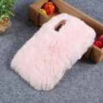 Soft Fur Coated Rhinestone TPU Case for Xiaomi Mi 9 – Pink