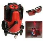 5 Lines 6 Points Laser Level Automatic Self Leveling 360 Degrees Rotation – US Plug