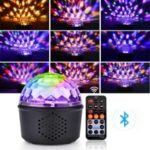 YOUOKLIGHT K23279 Bluetooth Play Music 9-Color LED Magic Ball Stage Light