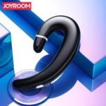 JOYROOM JR-P5 Single Ear-hook Bluetooth 5.0 Earphone with Mic for iPhone Samsung, etc – Black