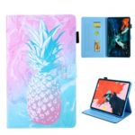 Pattern Printing Card Slots Leather Phone Case Cover for iPad Pro 11-inch (2018) – Pineapple