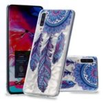 Embossed Pattern 3D Diamond Texture Soft TPU Back Case for Samsung Galaxy A70 – Dream Catcher