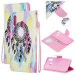 Pattern Printing Leather Wallet Case for Samsung Galaxy A20/A30 – Dream Catcher