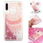 For Huawei P30 Lite / nova 4e Moving Glitter Powder Sequins Patterned TPU Protection Case – Mandala