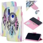 Pattern Printing PU Leather Magnetic Wallet Stand Protective Shell for Xiaomi Redmi 7 / Redmi Y3 – Dream Catcher