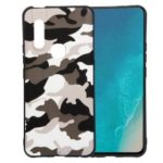 Camouflage Pattern TPU Soft Phone Cover for vivo V15 – White
