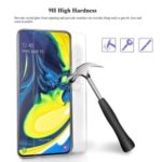 0.25D Arc Edge Tempered Glass Screen Phone Film for Samsung Galaxy A90 / A80