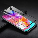 Ultra Clear 3D Tempered Glass Full Screen Protector Cover for Samsung Galaxy A70