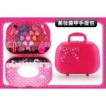 Kids Girl Makeup Set Eco-friendly Cosmetic Pretend Play Kit Princess Toy Gift