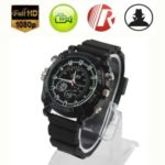 W1000 2 in 1 1080P Watch and Hidden Web Camera with Night Vision Function