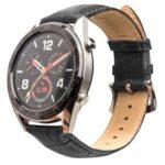 QIALINO Porsche Design Watch Band for Huawei Watch 2 Pro / GT – Black