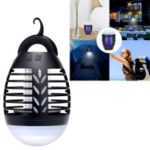 2-in-1 Rechargeable Waterproof Electric Mosquito Killer and LED Light for Indoor and Outdoor