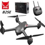 MJX B2SE 5G RC Quadcopter WiFi FPV 1080P Camera GPS Positioning Brushless Altitude Hold RC Drone – Grey