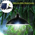 Solar Lights with 12 LED Beads and Remote Control for Indoor and Outdoor