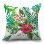 Tropical Plants Throw Pillow Cover Office Decorative Pillow Case – TP0018-20