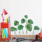Green Plant Mural Art Decal Wall Sticker Home Decor Adhesive Room Wallpaper 50x70cm
