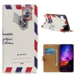 For Samsung Galaxy A10e Pattern Printing Wallet Leather Stand Phone Shell – Retro Envelope