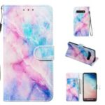 Pattern Printing Leather Wallet Stand Phone Case for Samsung Galaxy S10 – Multiple Colors