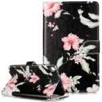 Pattern Printing Leather Stand Case for Shell for Samsung Galaxy Tab A 8 (2019) Galaxy Tab A with S PenSM-P205 – Style A