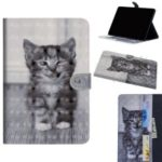 Pattern Printing Leather Wallet Stand Case for Huawei MediaPad T5 10 – Little Cat