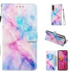 Pattern Printing Leather Wallet Stand Case for Huawei P30 – Multiple Colors
