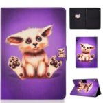 Shock-proof Pattern Printing Card Slot PU Leather Tablet Casing for Huawei MediaPad T5 10 – Abyssinian Cat