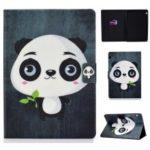 Shock-proof Pattern Printing Card Slot PU Leather Tablet Casing for Huawei MediaPad T5 10 – Cute Panda
