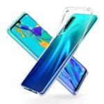 Clear Acrylic + TPU Hybrid Phone Protective Shell for Huawei P30
