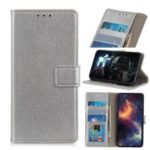 Litchi Skin Wallet Leather Stand Case for Xiaomi Redmi K20 Pro / Mi 9T Pro / Redmi K20 / Mi 9T – Silver