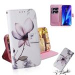 Pattern Printing Leather Wallet Case for Xiaomi Redmi K20 / Mi 9T / Redmi K20 Pro / Mi 9T Pro – Beautiful Flowers
