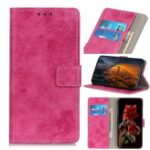 Vintage Style Leather Wallet Case Cover for Xiaomi Redmi 7A – Rose