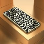 Wild Leopard Series TPU + PC + Organic Glass Phone Case for Xiaomi Mi 9 SE – Black