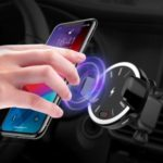 CW-10 Automatic Car Mount Wireless Charger Infrared Induction Fast Charging (Not Support FOD Function)