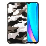 Camouflage Pattern TPU Phone Case for Oppo Realme 3 – White