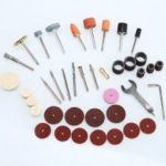 40PCS Buffing Sanding Rotary Tool Kit Electric Variable Speed Grinder Accessories