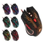 HXSJ H800 Flamingo Seven Colors 6D Lightning Game Mouse